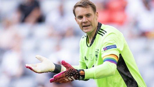 Die Regenbogen-Armbinde von Manuel Neuer triggert AfD-Politiker Uwe Jung.