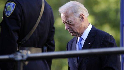 US-Präsident Joe Biden in Trauer.