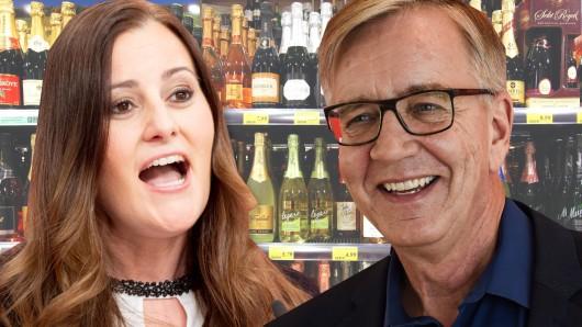 Günstigerer Alkohol für alle: Das fordern die Co-Chefin der Linken, Janine Wissler, und Co-Spitzenkandidat Dietmar Barth zur Bundestagswahl.