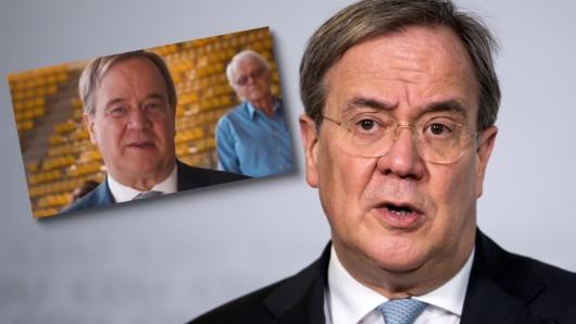 Der Wahlkampfspot von Armin Laschet wird verspottet.
