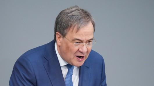 Armin Laschet und die Union stehen mit ihrem Wahlprogramm in der Kritik.