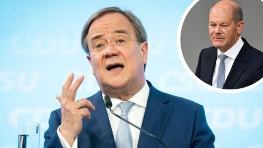 CDU-Kanzlerkandidat Armin Laschet hat einen brisanten Vorwurf gegen Olaf Scholz, den Spitzenkandidaten der SPD, gerichtet.