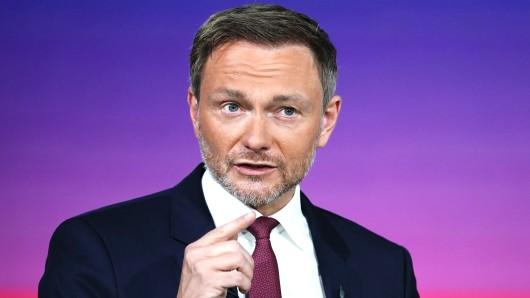 FDP-Spitzenkandidat Christian Lindner unter Kritik.