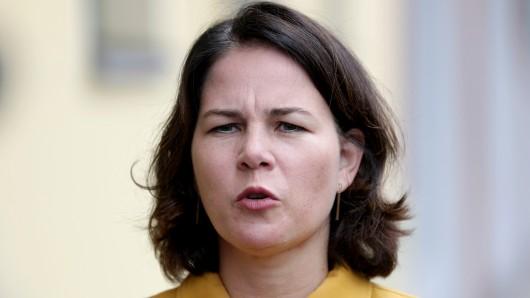 Schlechte Umfrage-Nachrichten für Grünen-Kanzlerkandidatin Annalena Baerbock.