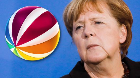 Der TV-Sender Sat.1 wirft das Programm für eine Sendung über Bundeskanzlerin Angela Merkel um.