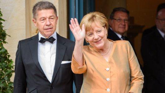 Angela Merkel und ihr zweiter Ehemann Joachim Sauer.
