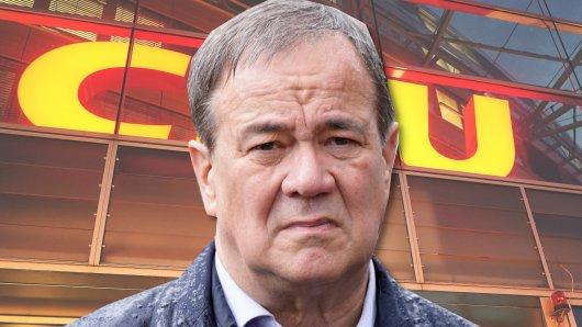 Steht auch bei aktuellen Umfragen im Regen: Kanzlerkandidat Armin Laschet.