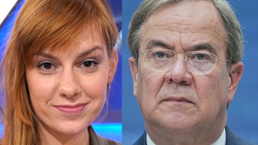 Eva Schulz interviewte Unions-Kanzlerkandidat Armin Laschet vor der Bundestagswahl.