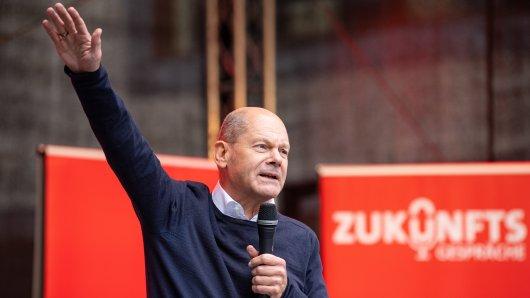 Olaf Scholz kämpft vor der Bundestagswahl um jede Stimme.