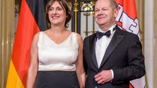 Die Frau an seiner Seite: Britta Ernst und Olaf Scholz sind seit 1998 verheiratet.