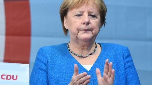 Für Angela Merkel war der Wahltag ein gebrauchter Tag.
