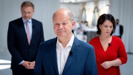 Am Donnerstag beginnen die Dreier-Verhandlungen zwischen SPD, FDP und Grünen (Archivbild).