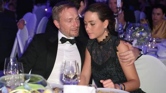 Christian Lindner und seine Partnerin Franca Lehfeldt.