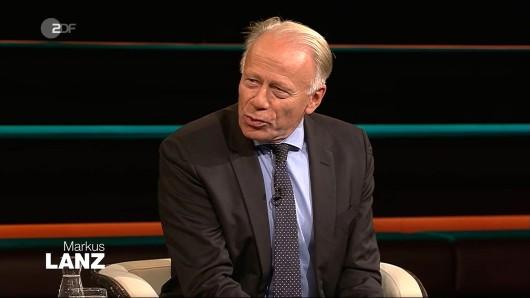 Jürgen Trittin in der ZDF-Sendung von Markus Lanz.