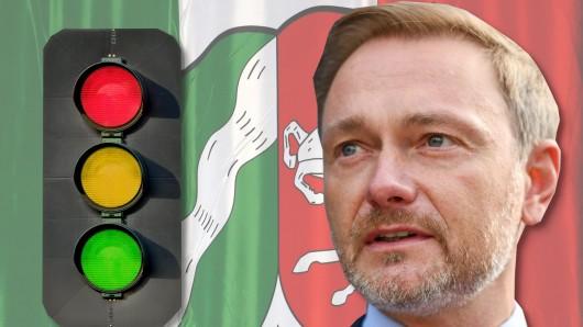 Setzt FDP-Chef Christian Lindner nach der NRW-Landtagswahl 2022 auch auf eine Ampel?