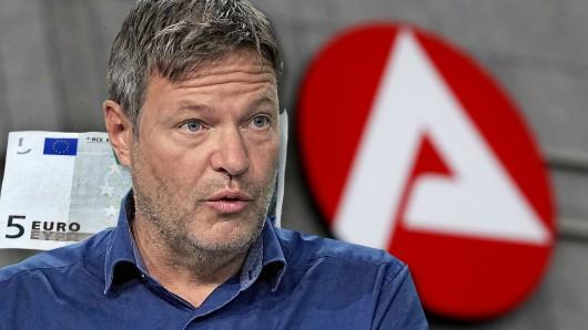 Grünen-Chef Robert Habeck sorgt für Empörung mit einer Unterstellung über Hartz-4-Empfänger.