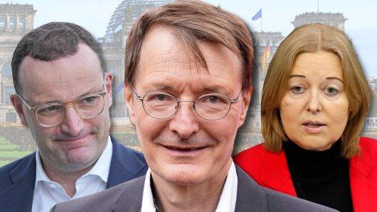 Weg frei für SPD-Mann Karl Lauterbach durch den Paukenschlag mit Bärbel Bas? Wird er Nachfolger von Gesundheitsminister Jens Spahn?