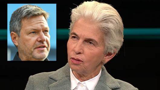 FDP-Politikerin Marie-Agnes Strack-Zimmermann bei Markus Lanz.