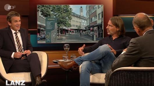 Autor Richard David Precht spricht bei Markus Lanz über sterbende Innenstädte in Deutschland.