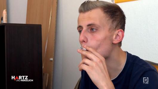"""""""Hartz 4""""-Empfänger Martin genießt sein Leben."""