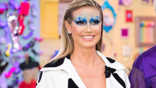 "Heidi Klum präsentiert ""Queen of Drags""."