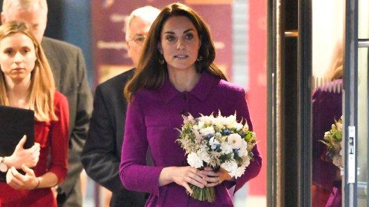 Immer souverän, immer pfllichtbewusst: Herzogin Kate (37) wirkt aktuell bei den Royals wie der Fels in der Brandung.