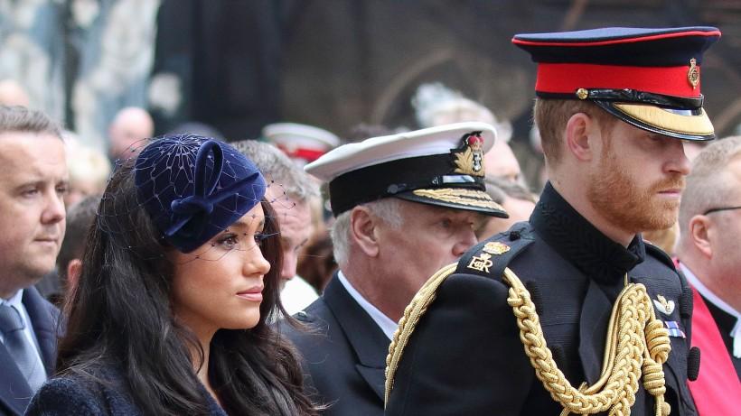 """Meghan Markle und Prinz Harry: """"Wir sind erschüttert ..."""""""