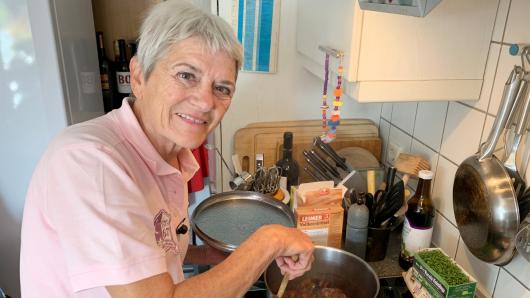 """""""Das perfekte Dinner"""": Kandidatin Wiltrud hatte dringende Bedürfnisse, die nicht mehr warten konnten."""