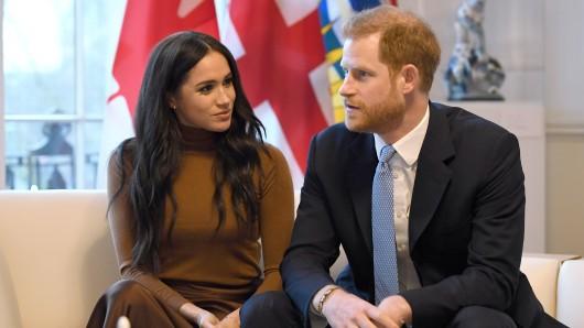 Meghan Markle und Prinz Harry kommen nach England zurück.
