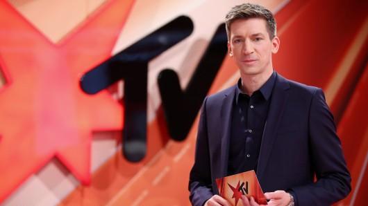 """""""Stern TV""""-Moderator Steffen Hallaschka war nach der Aussage seines Gastes sichtlich überrascht. (Archivfoto)"""