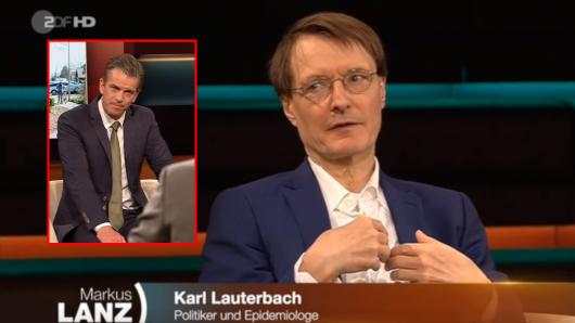 Karl Lauterbach äußerte sich bei Markus Lanz zum Thema Maskenpflicht und Impfstoff gegen das Coronavirus.