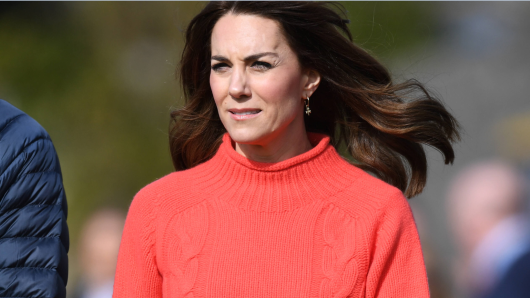 Kate Middleton musste sich auch vor dem Coronavirus zurückziehen.