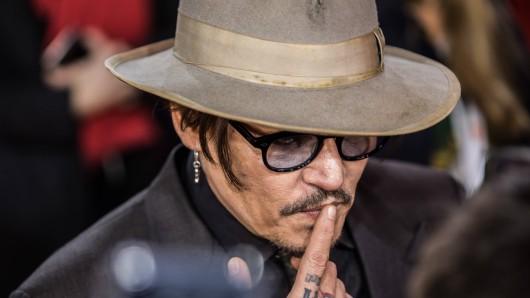 Johnny Depp gehört zu den bekanntesten Schauspielern der Welt.