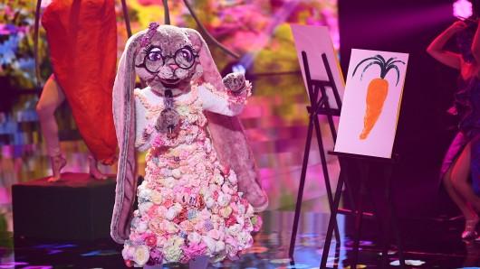 'Der Hase' steht im Finale von 'The Masked Singer'.