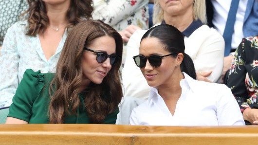 Kate Middleton (links) und Meghan Markle.