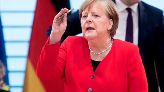 Angela Merkel ist weit entfernt davon aufzugeben.