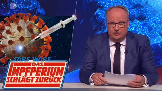 """Die """"Heute Show"""" (ZDF) wird von Oliver Welke moderiert."""