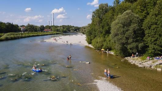 Die Isar in München. (Archivbild)