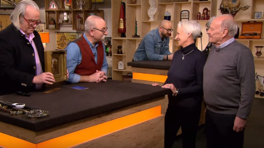 """""""Bares für Rares"""": Das süße Ehepaar Kahlert wird vom Wert überrascht."""