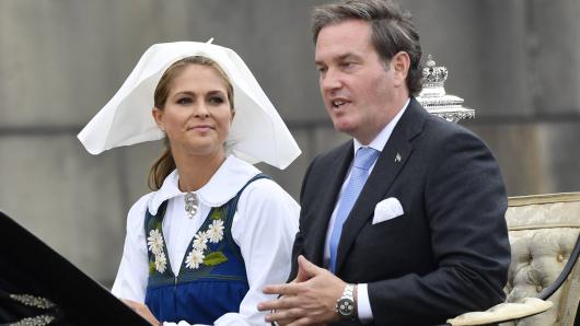 Madeleine von Schweden und ihr Mann Chris O'Neill mussten den Victoria-Tag ausfallen lassen.