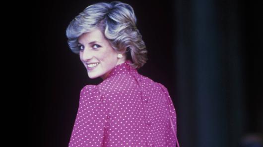 Prinzessin Diana brach mit einer jahrhundertealten Regel.