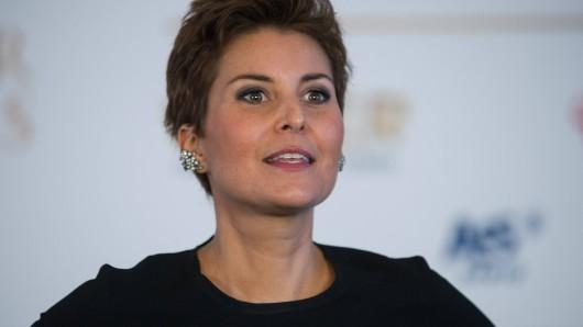 """""""Frühstücksfernsehen""""-Promi-Expertin Vanessa Blumhagen macht eine Pause bei Sat.1."""