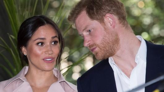 Meghan Markle und Prinz Harry stehen derzeit in der Kritik. (Archivbild)