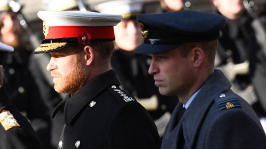 Prinz Harry und Prinz William.
