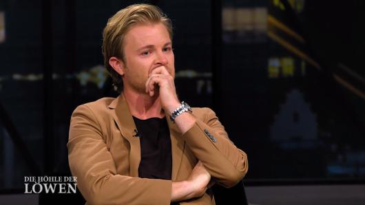 """Bei Investor Nico Rosberg flossen bei """"Die Höhle der Löwen"""" die Tränen. Dann geht er."""
