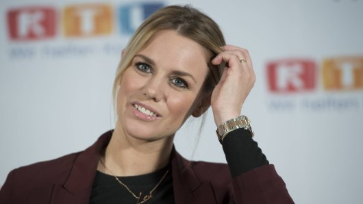 RTL-Moderatorin Sandra Kuhn.