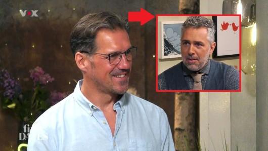 First Dates: Gastgeber Roland Trettl ist verwirrt von Ulf.