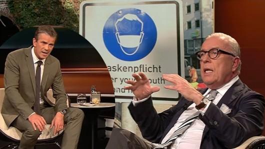 Markus Lanz ist außer sich, als Bundesärzte-Chef Reinhardt über Corona-Masken spricht.