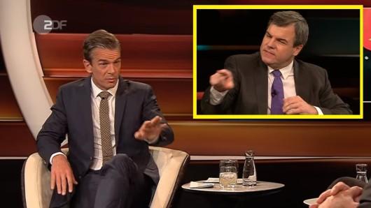 Markus Lanz im ZDF: Heftiger Schlagabtausch zwischen dem Moderator und Trump-Fan Freund in der Talkshow.