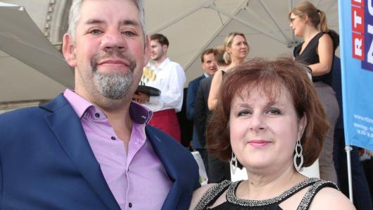 """Uwe und Iris Abel lernten sich 2011 bei """"Bauer sucht Frau"""" kennen."""